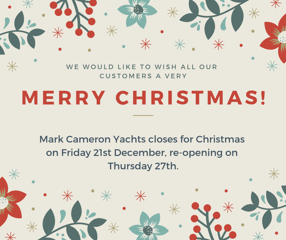 Mark Cameron Yachts Christmas 2018