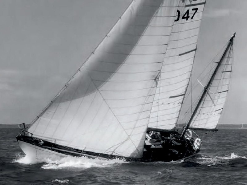 Casquet 36' Arthur Robb Yawl