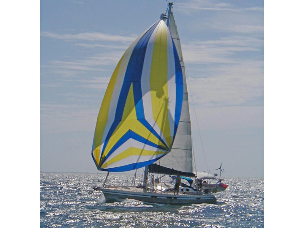 Alubat Ovni 43 under sail