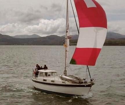 Hallberg-Rassy 94 Kutter under sail