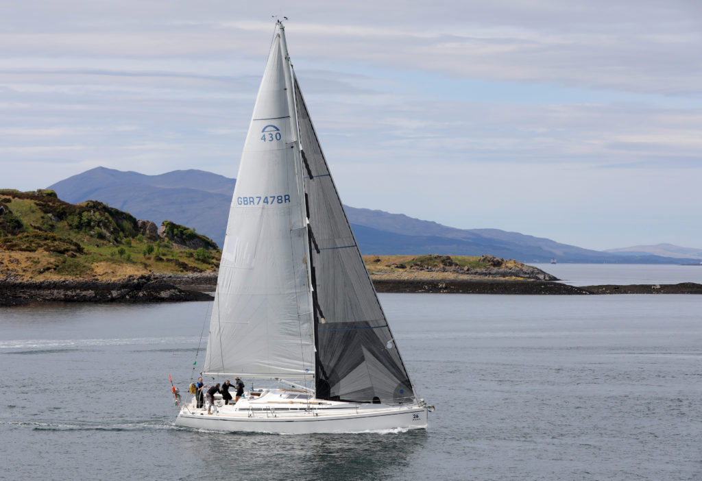 Arcona 430 wins Scottish Islands Peaks Race