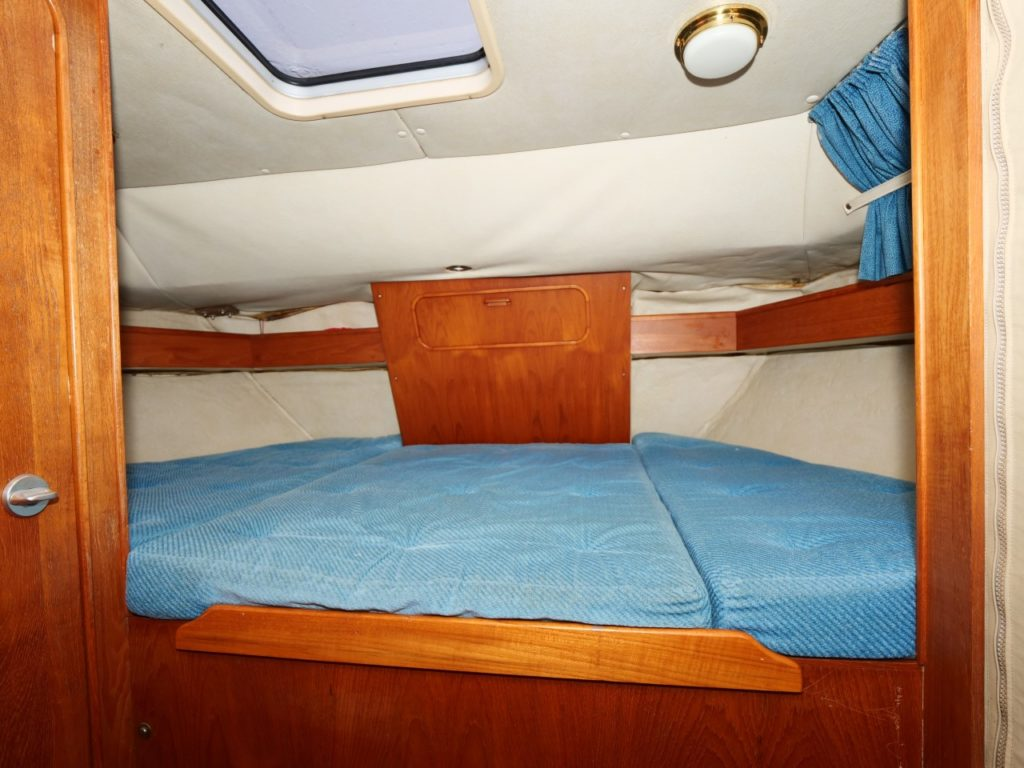 Westerly Corsair aft cabin
