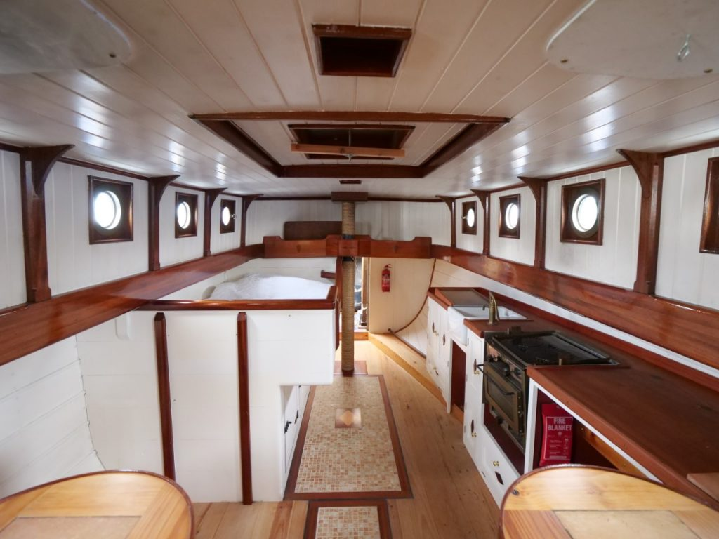 Luxe Dutch Barge Accommodation