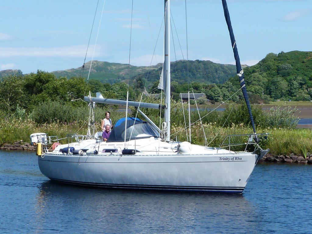 Moody 38CC for sale Scotland