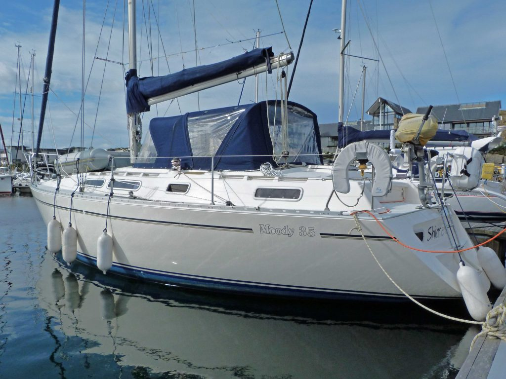 Moody 35 for sale Scotland