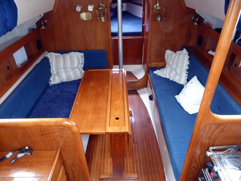 Scampi 30 Below Decks
