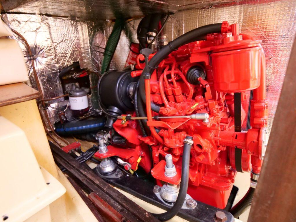Achilles 9m Beta Marine Engine