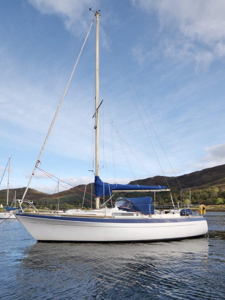 Moody 33 MkI for sale scotland