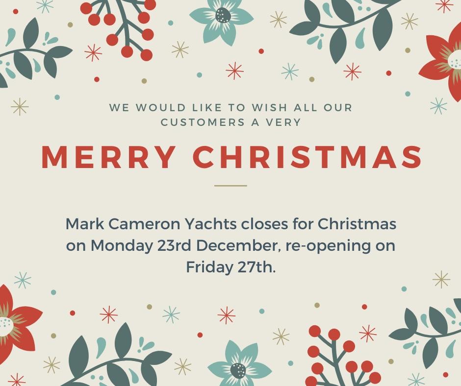 Mark Cameron Yachts Christmas Opening