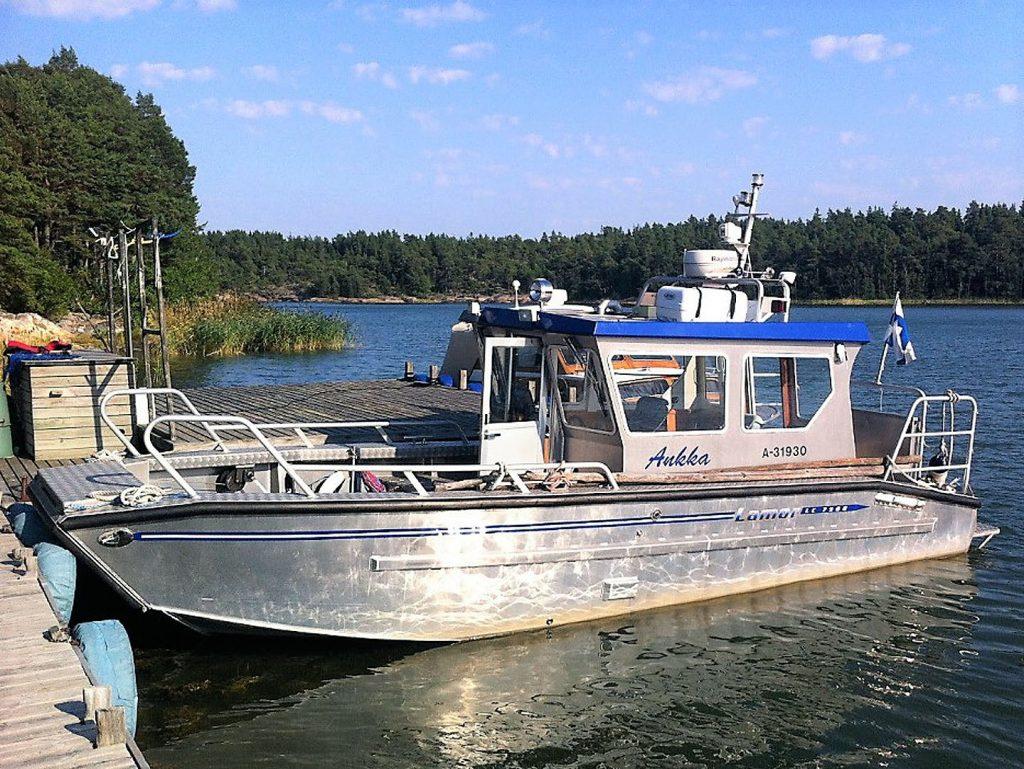 Lamor 7.5m landing craft