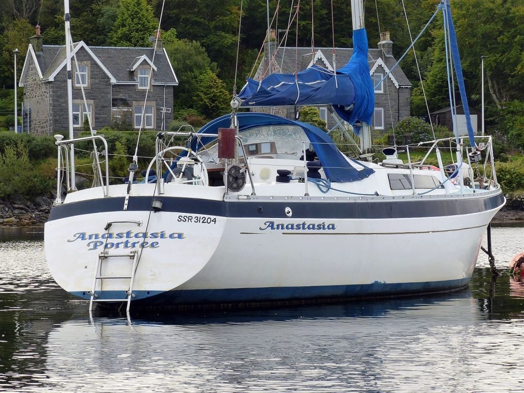 Moody 33 for sale Scotland