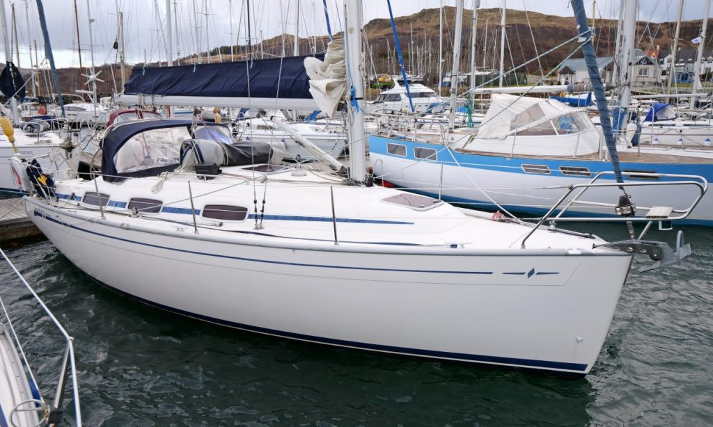Bavaria yachts for sale Scotland