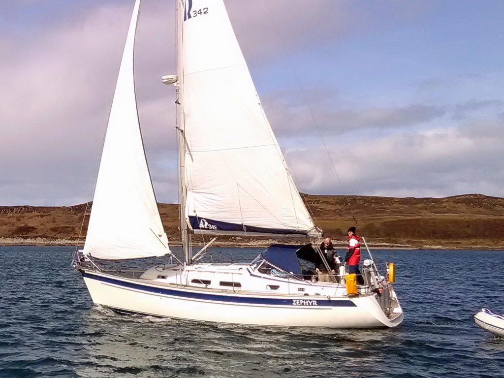 Hallberg-Rassy for sale Scotland