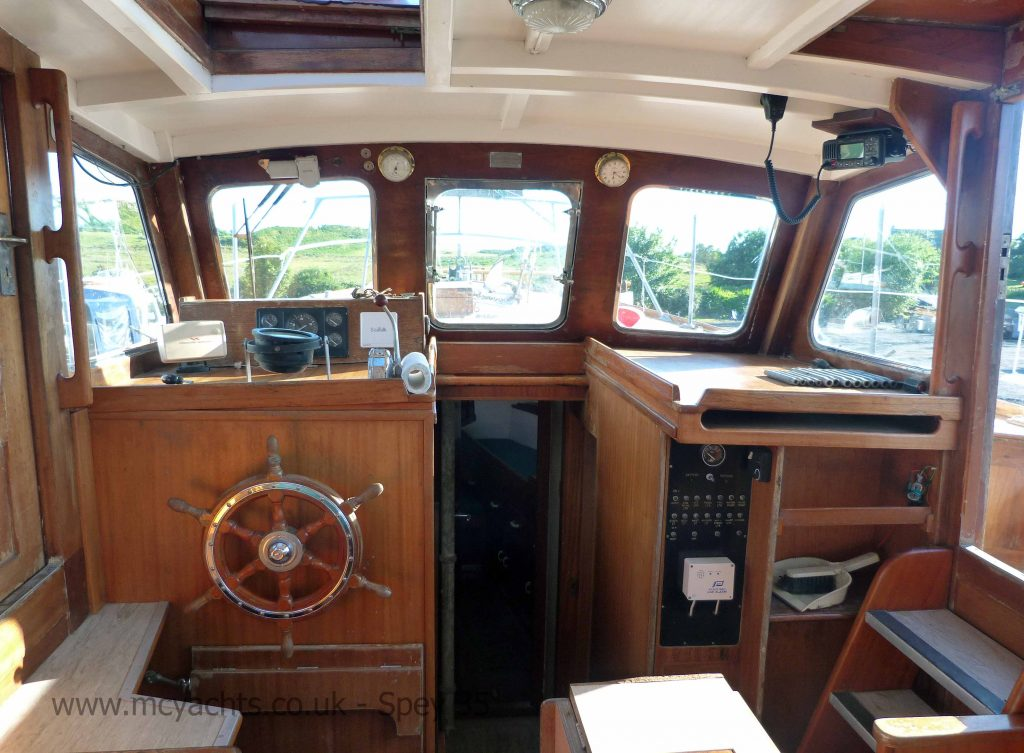 Jones of Buckie Spey 35 Wheelhouse