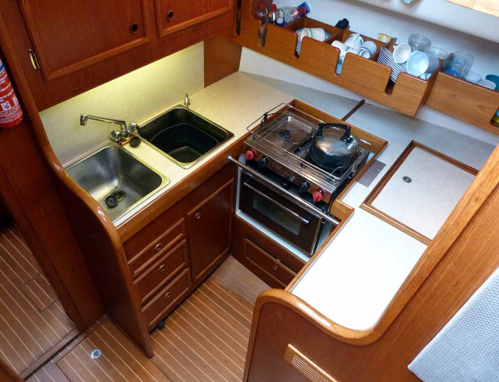 Cromarty 36 Galley