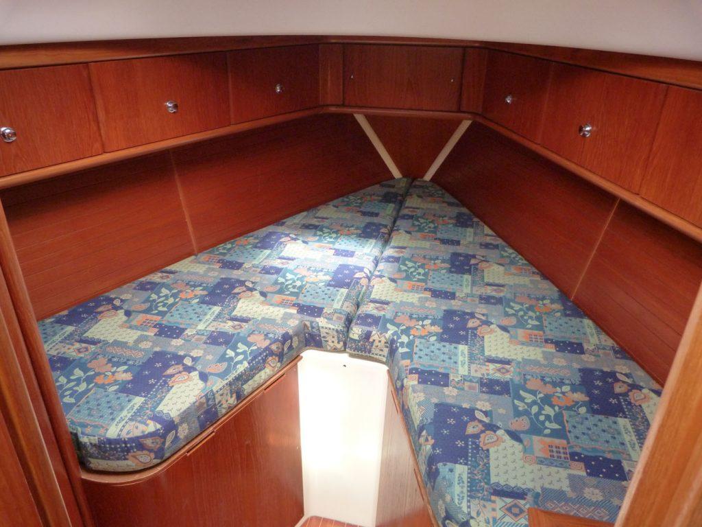 Moody 36 Forward cabin