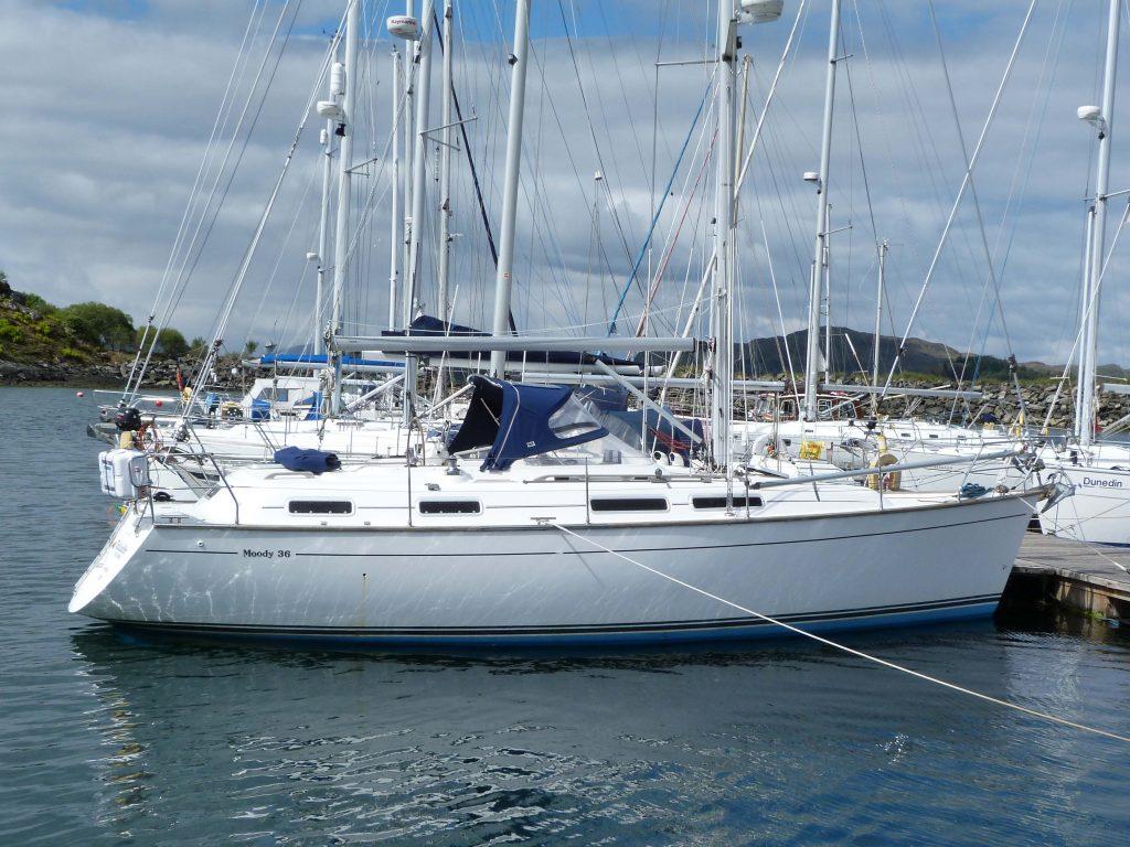 Moody 36 'TALADH A CUAN' for sale scotland
