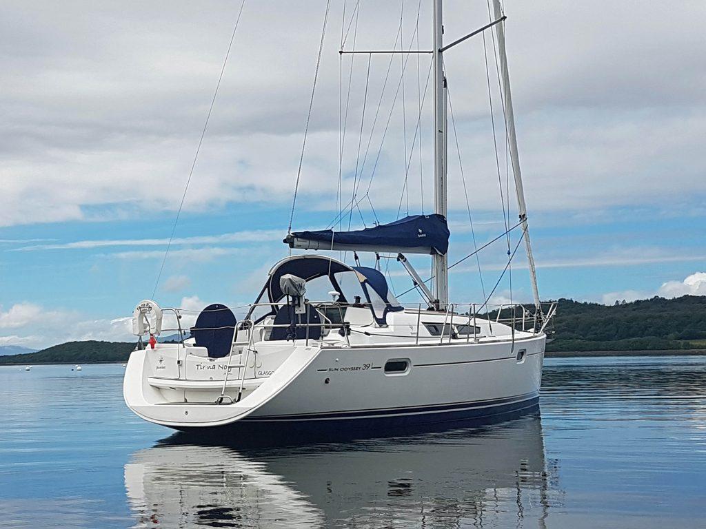 Jeanneau Sun Odyssey 39i Scotland