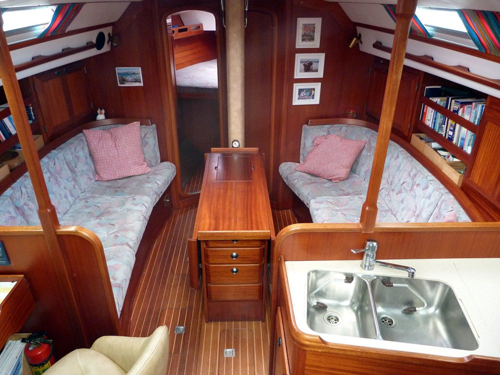 Sweden Yachts 370 Below Decks