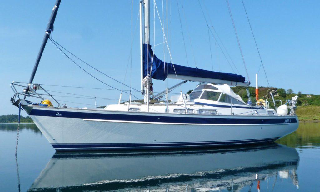 Hallberg-Rassy yachts for sale Scotland