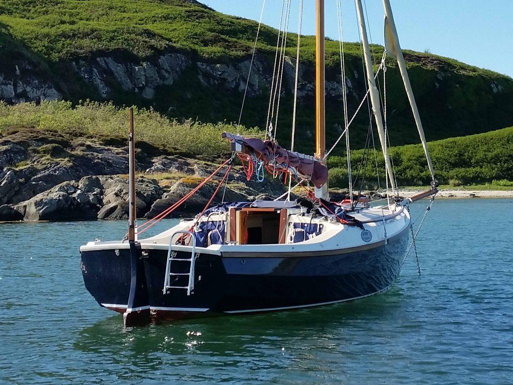 Cape Cutter 19 trailer sailer