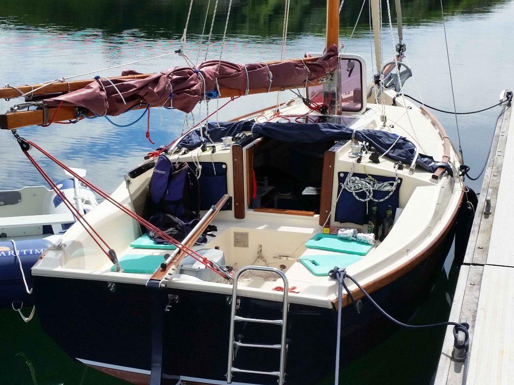 Cape Cutter 19 Cockpit