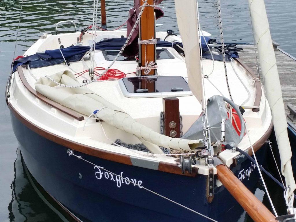 Cape Cutter 19 on deck