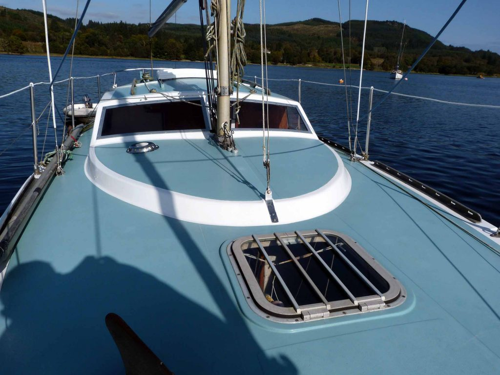 Southerly 28 coachroof