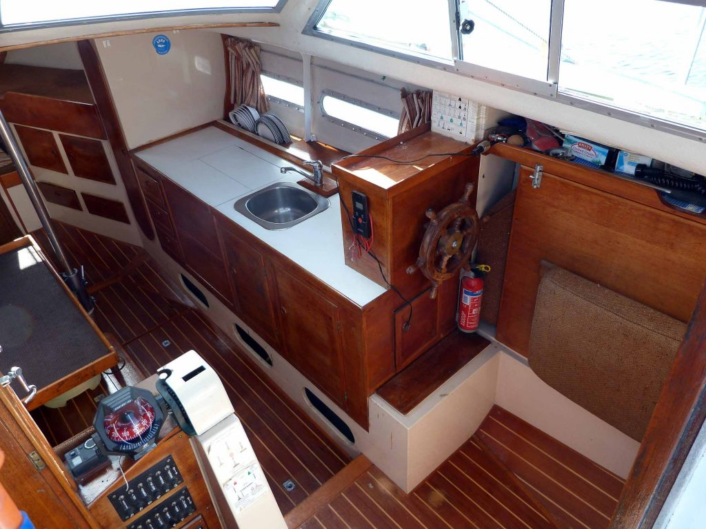 Southerly 28 Galley