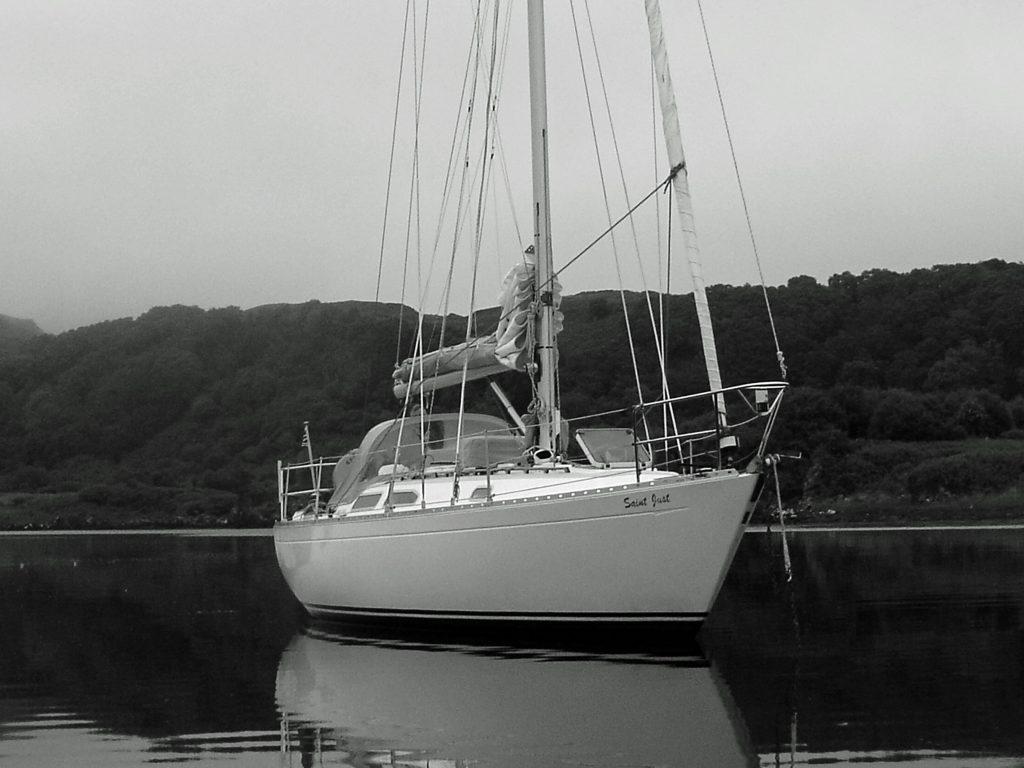 Blue water yacht brokerage Scotland