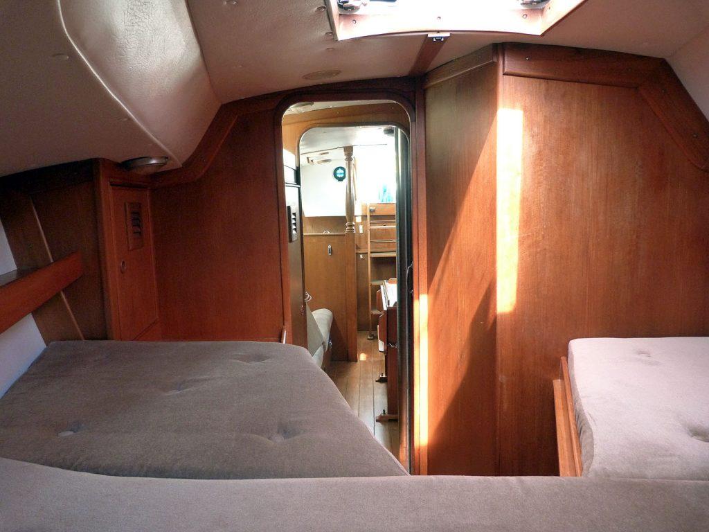 Rustler 36 Forward Cabin