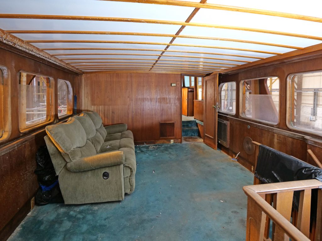 Vintage Feadship for sale