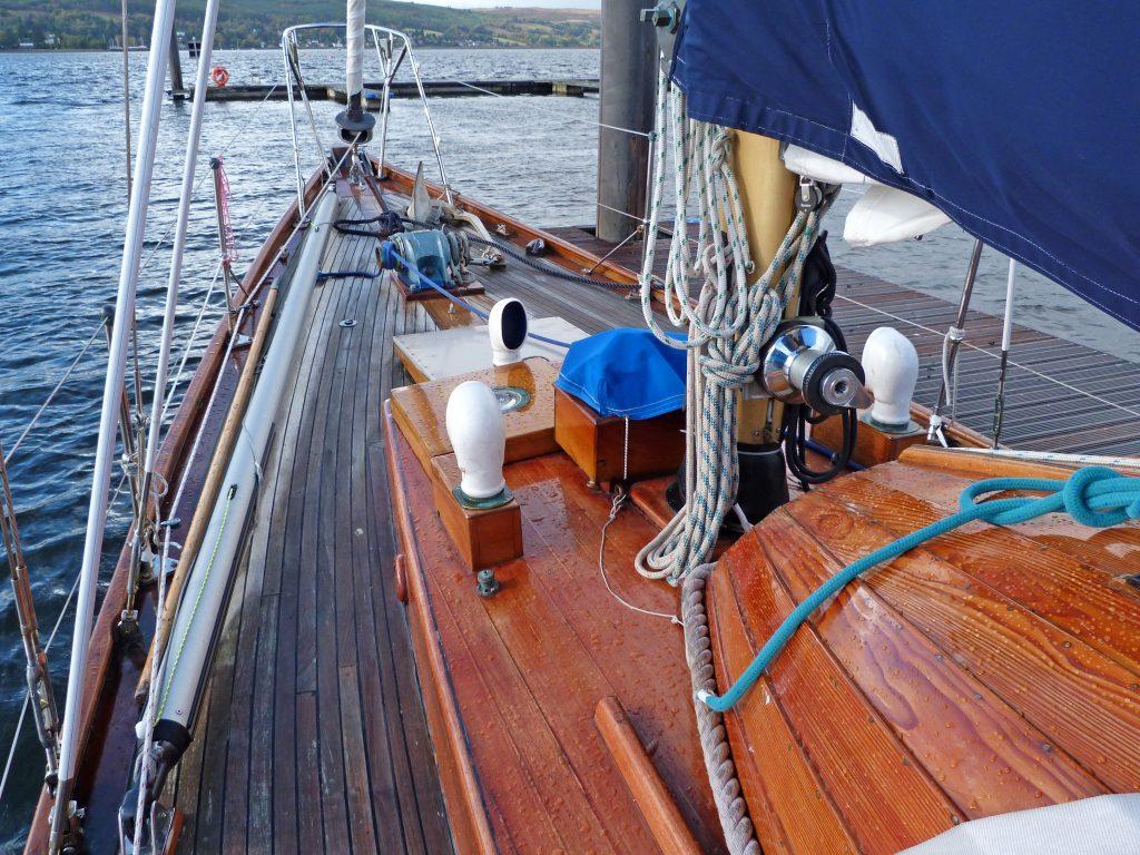 McGruer classic yacht