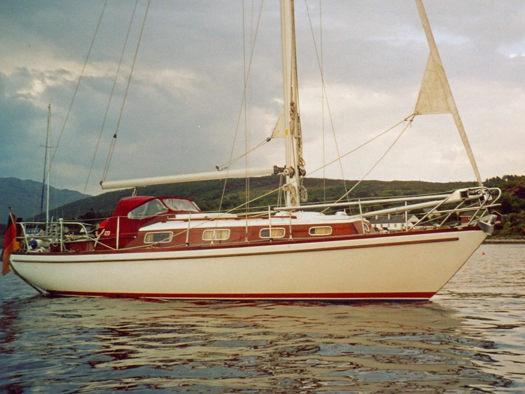 Hallberg-Rassy Brokerage Scotland
