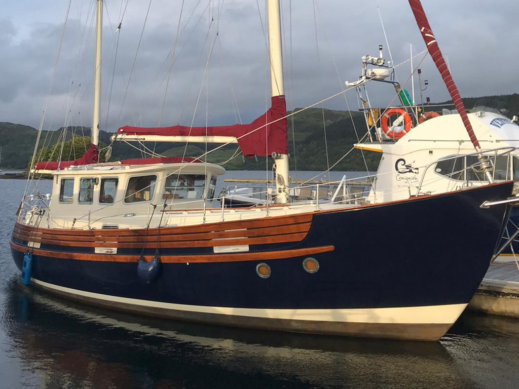 Fisher 37 for sale Scotland.