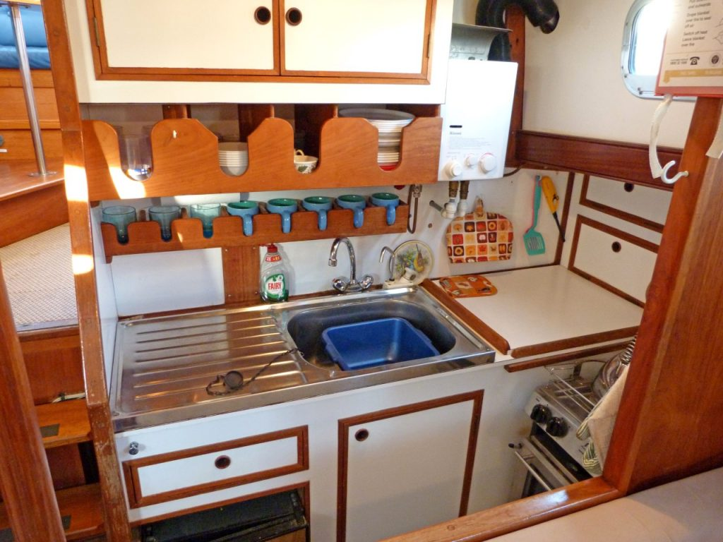 Fisher 37 Galley