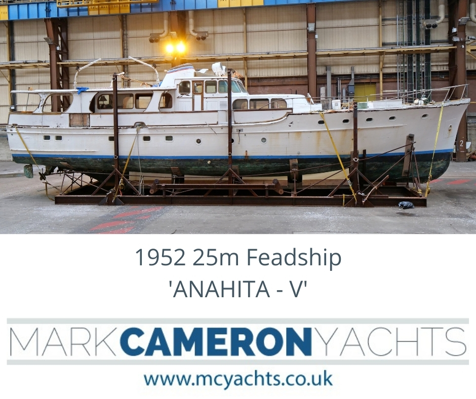 Classic Feadship for sale