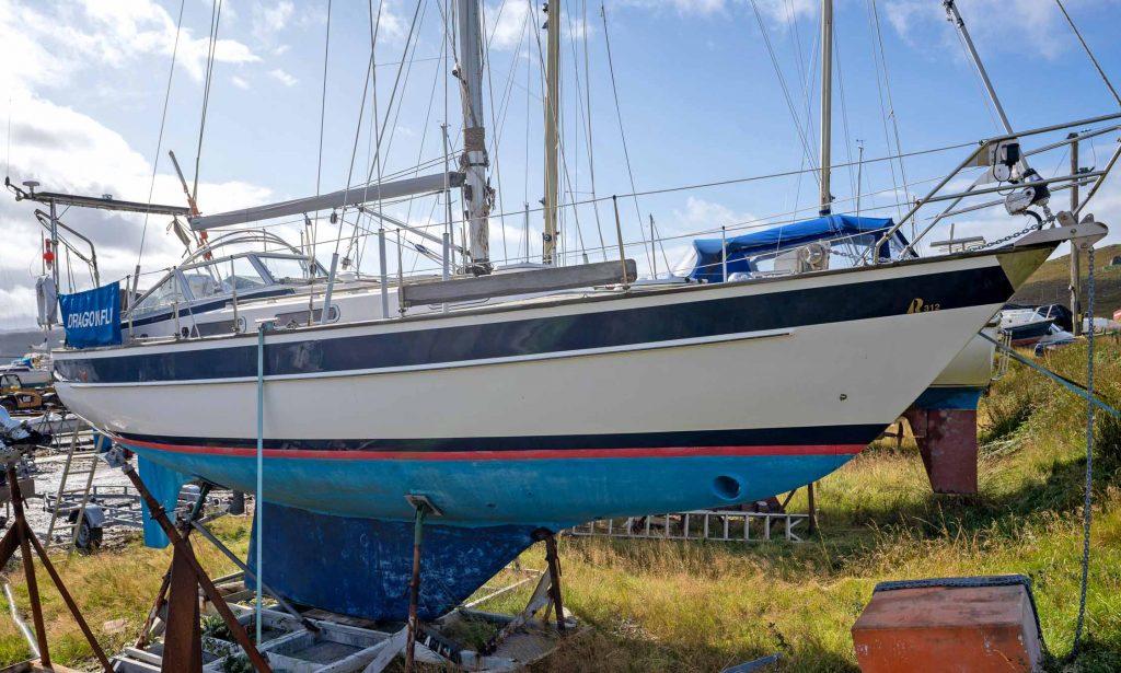 Hallberg-Rassy 312 for sale Scotland