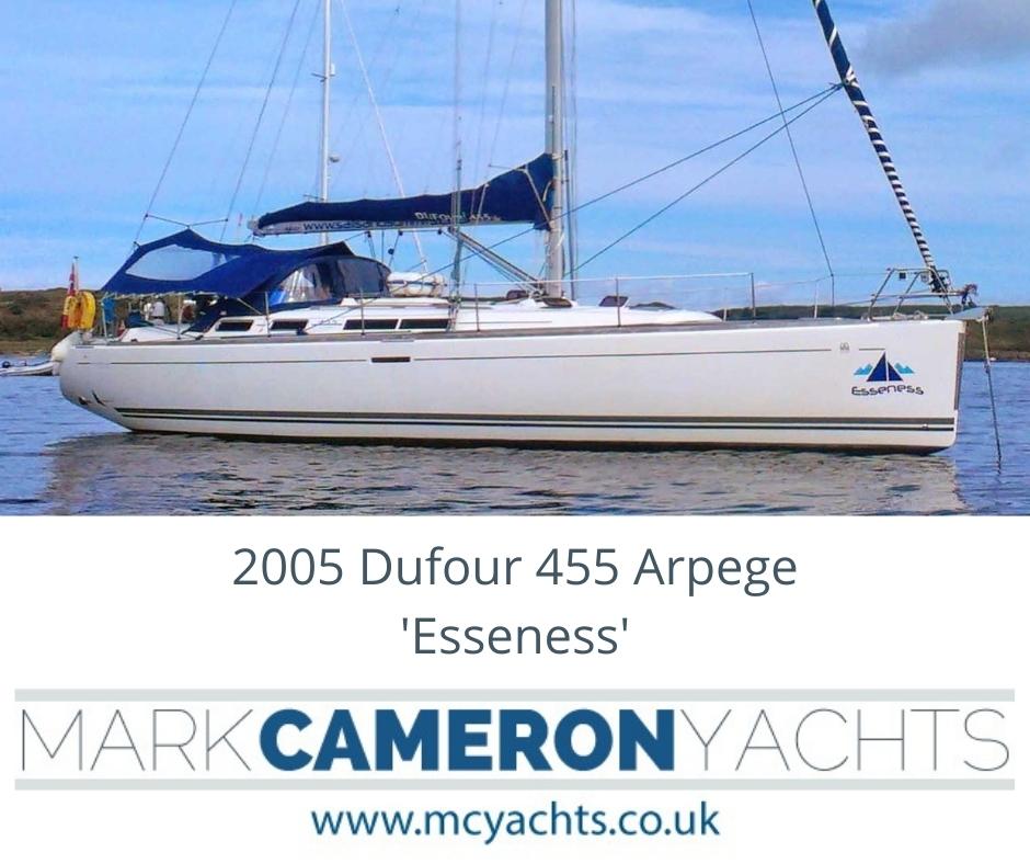 Dufour 455 for sale Scotland