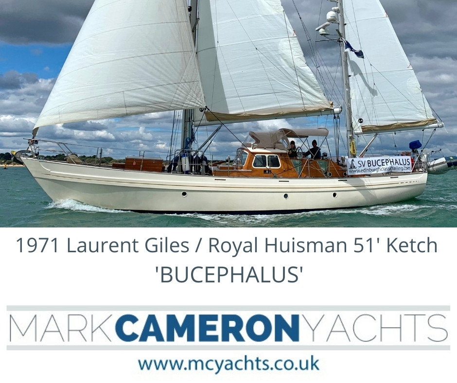 Moody Ketch for sale