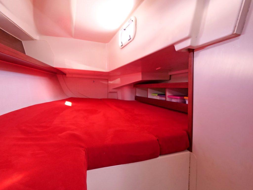 Hanse 320 Aft cabin