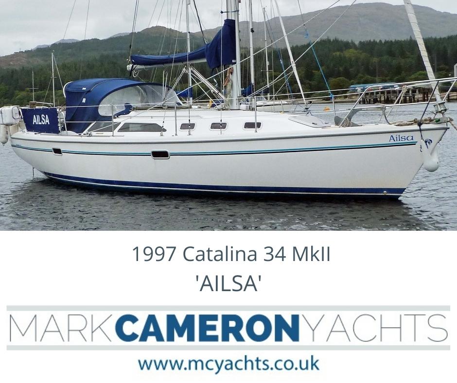Catalina Yacht Brokerage Scotland