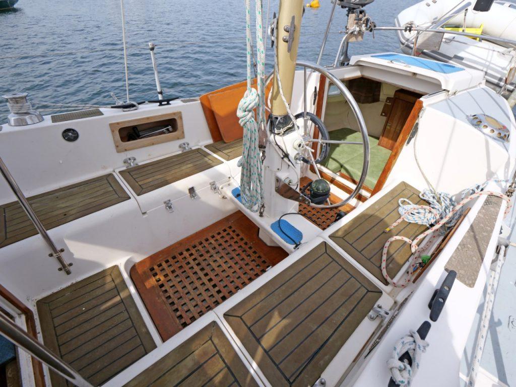 Westerly Pentland cockpit