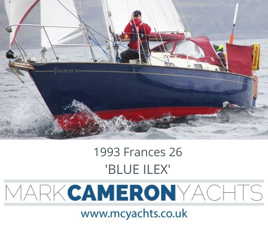 Victoria Yachts Frances 26 for sale
