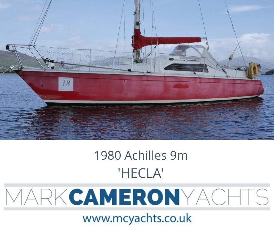 Achilles 9m yacht