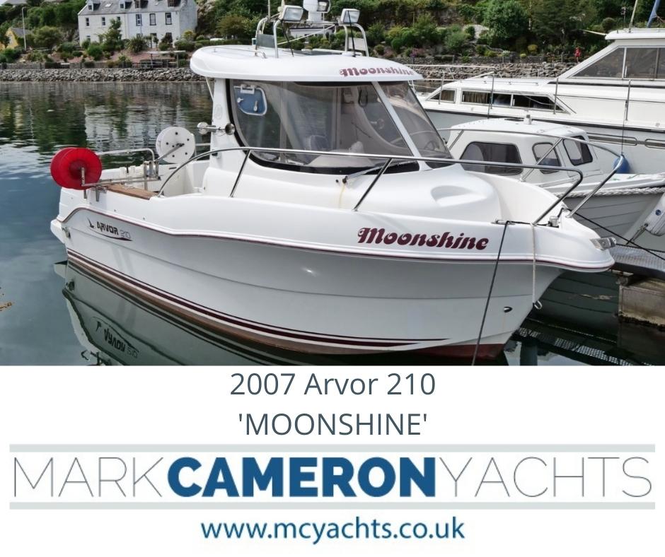 Arvor boats for sale Scotland