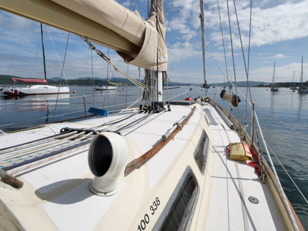 Nicholson 35 deck