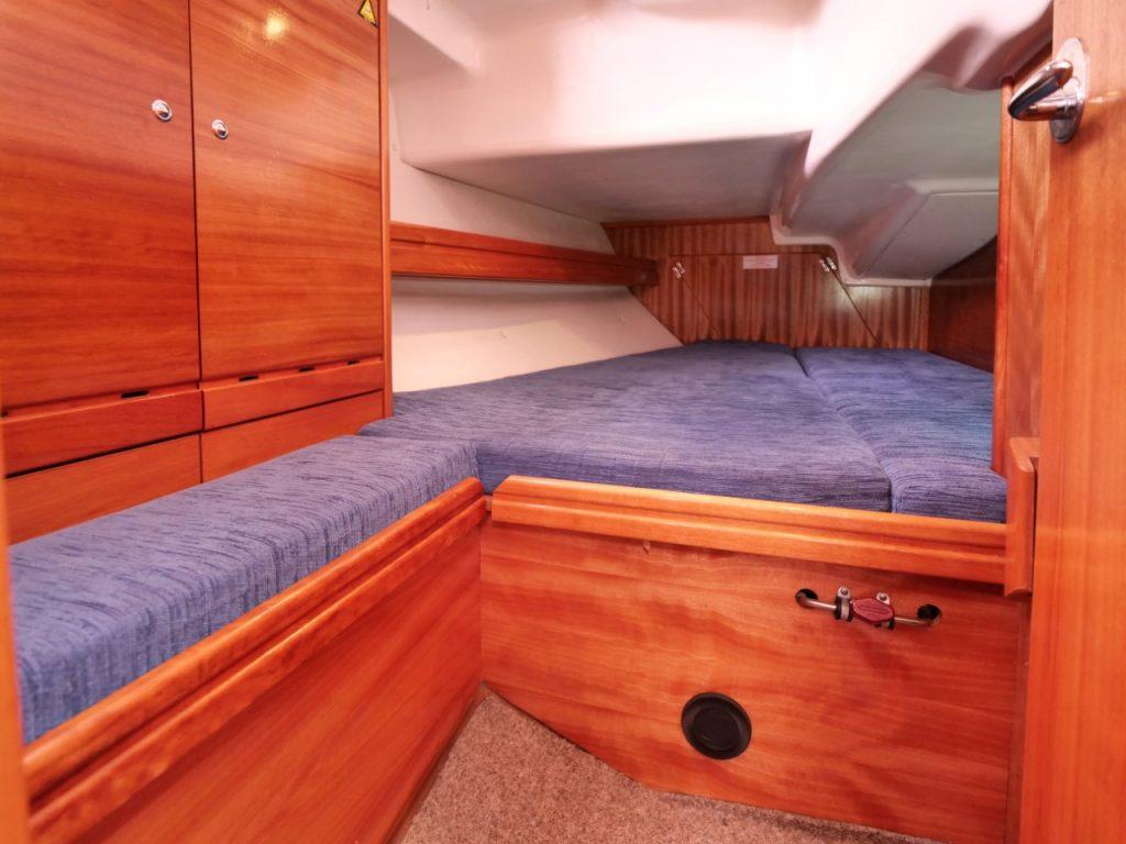 Bavaria 37 Cruiser aft cabins
