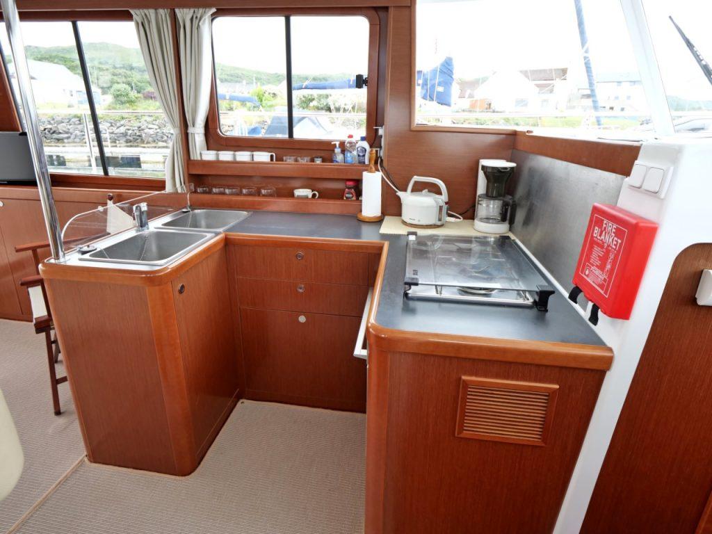Beneteau Swift Trawler 34 Galley