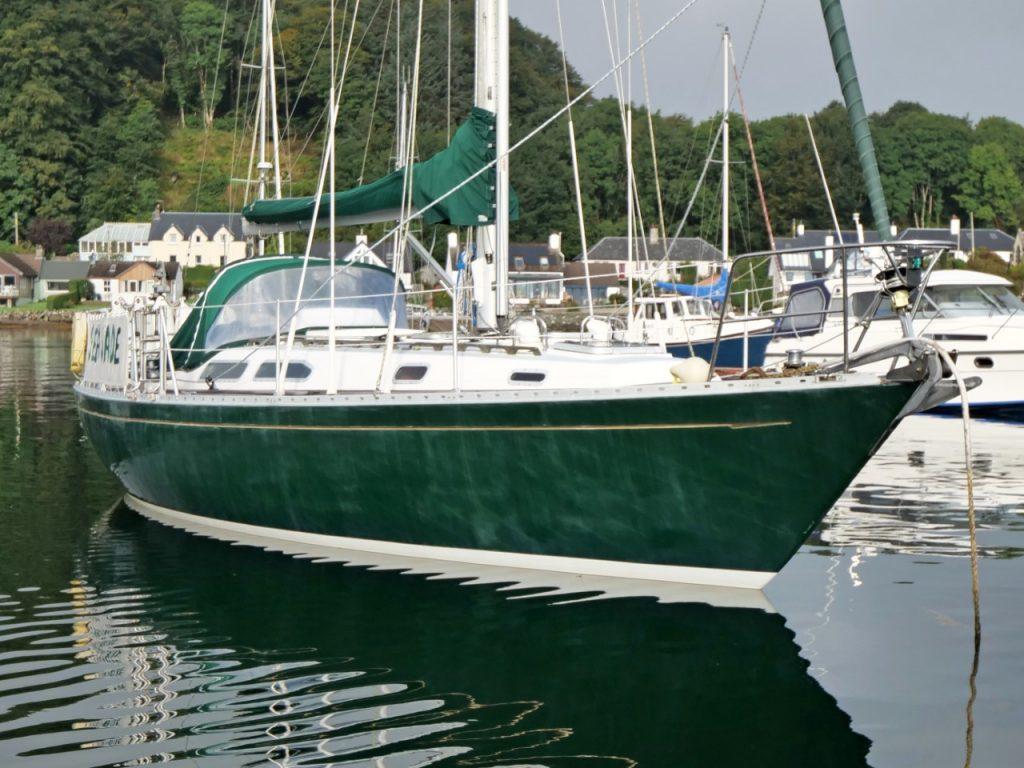 Rustler 36 'SEA JADE' for sale with Mark Cameron Yachts